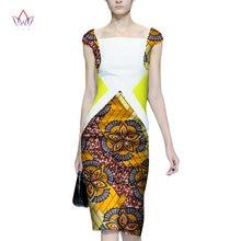528ff0a8238 2018 Afrique Robe Pour Femmes Africain Cire Impression Robes Dashiki Plus  Taille Afrique Style Vêtements pour