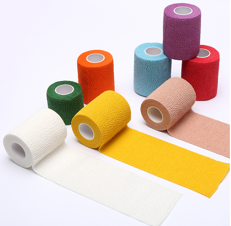 5cm*4.5m Security Protection Waterproof Self Adhesive Elastic Bandage First Aid Kit Bandage