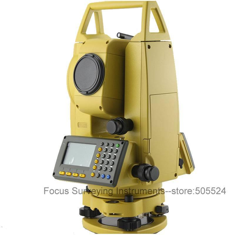 Новый безотражательный 500 м лазерный тахеометр NTS-332R5 Prism-бесплатная