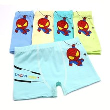 New Children Underwear Boxing Cave Boy Cartoon Leopard Spiderman Majtki Damskie Next Time