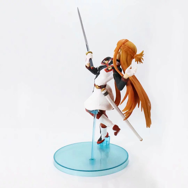 Anime Sword Art Online Asuna 1/7 scale painted figure Fighting Ver. Yuuki Asuna Model Gifts no retail box (Chinese Version) 3