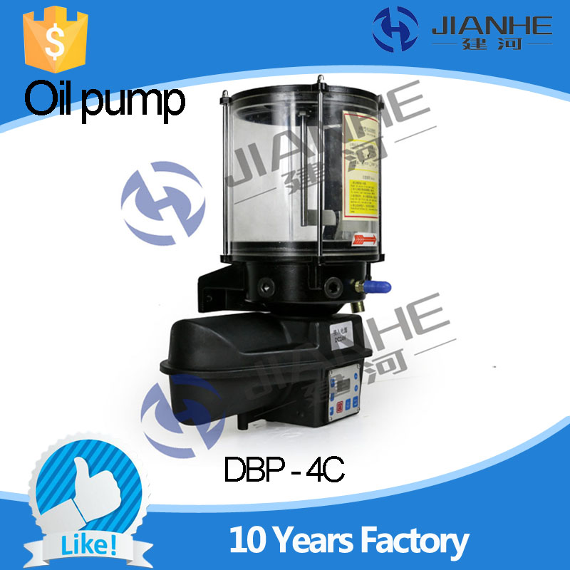 DBP-4C type Fully Automatic Electric Lubrication Oil Pump For CNC Machine/ Lubrication system full set 1 5l fully automatic lubrication pump 220v single screen oil lubrication pump for cnc router