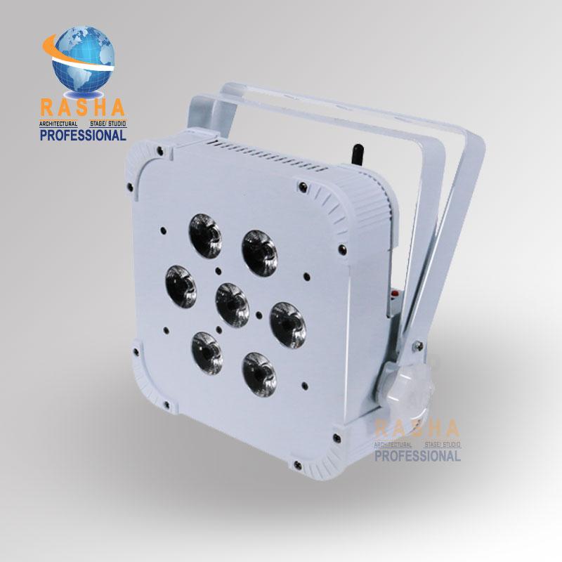 High Quality Rasha Hex 6in1 RGBAW+UV Non- Wireless LED Flat Par Profile,LED Flat Slim Par Can,Disco DMX512 Stage Light