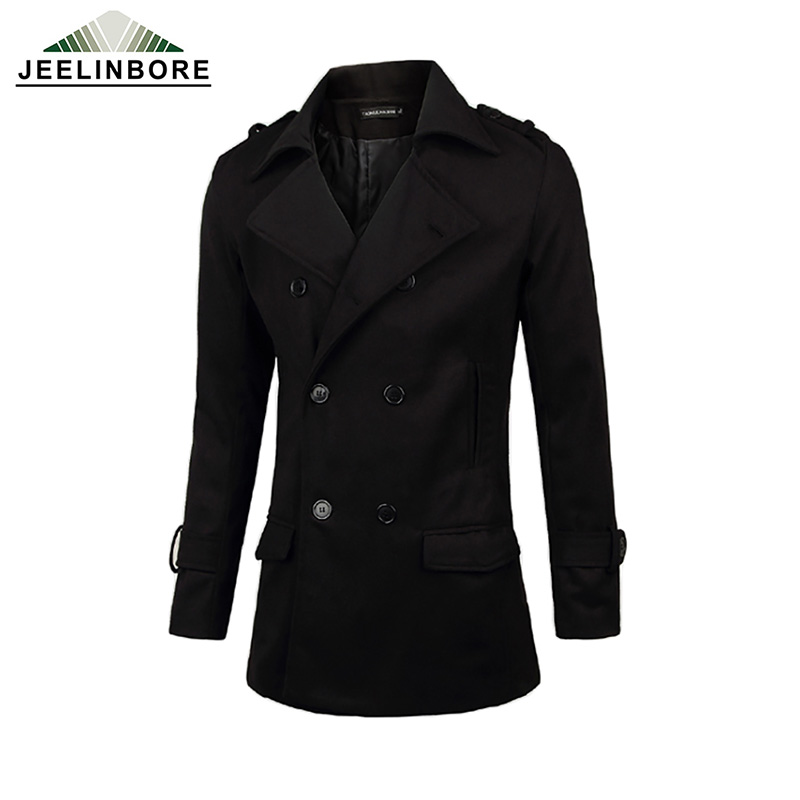 Aliexpress.com : Buy Mens Overcoat Winter Mens Warm Slim Fit Coats ...