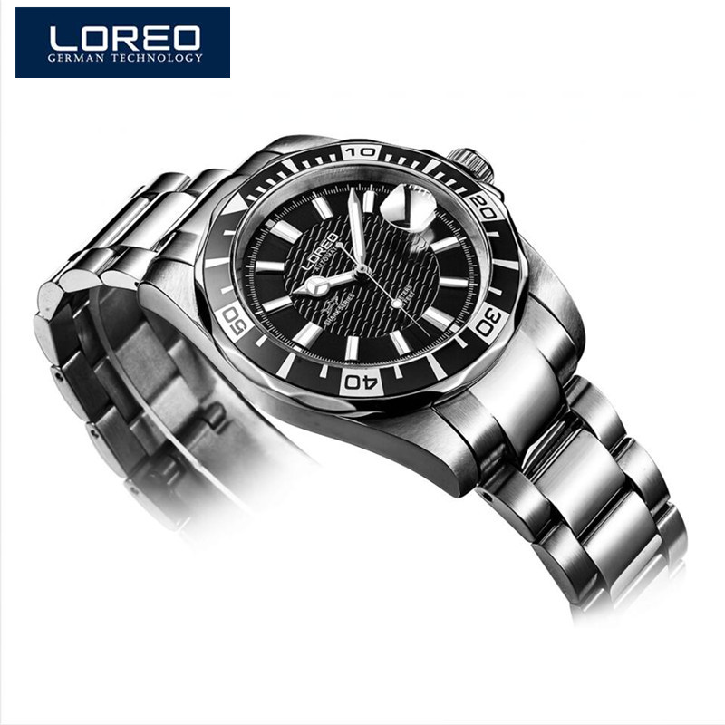 LOREO Multi Function Watch Men Fashion Relogio Masculino Automatic Mechanical Vintage Watch 2016 Men
