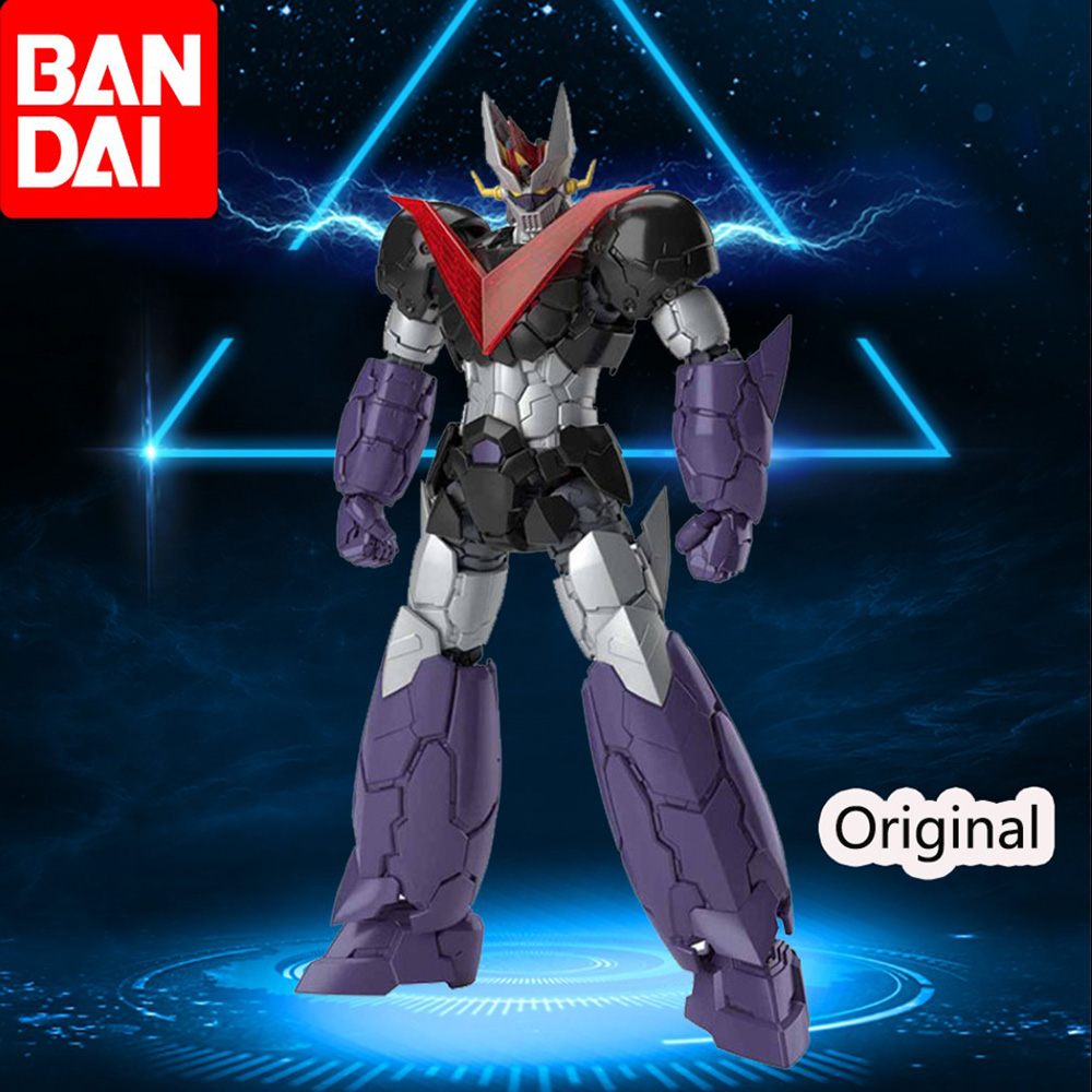 <font><b>Bandai</b></font> GREAT <font><b>MAZINGER</b></font> HG 1/144 <font><b>MAZINGER</b></font> <font><b>Z</b></font> NFINITY Gundam Mobile Suit Assemble Model Kits <font><b>Action</b></font> <font><b>Figures</b></font> Plastic Model Toy Gift image