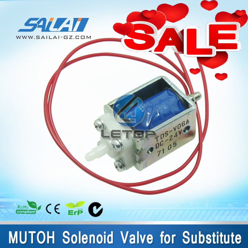 Printer solenoid valve 24v for Mutoh 1604 printer two way valve цена