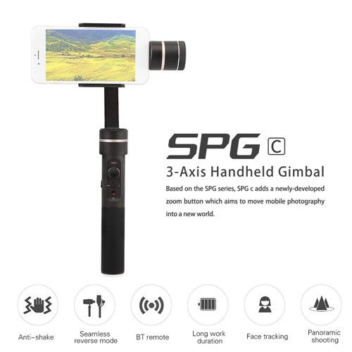 Feiyu Tech SPG-C 3 Axis Bluetooth Stabilized Handheld Gimbal for SmartPhone  rc drone