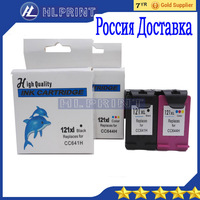 2pcs Compatible Ink Cartridge HP121XL HP121 For Deskjet 1050 2050 2050s ENVY 100 110 114 120