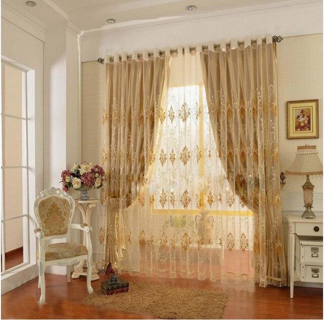 curtains for living room bedroom hook grommet top blind curtain ...