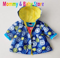 Girl Blue Flower Coat  Export Quality for 2-5 years old Brand Kids Girls Trench