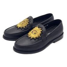 Золотые шелковые Лоферы ручной работы на плоской подошве из натуральной кожи без шнуровки, модные оксфорды, мужская обувь без застежки