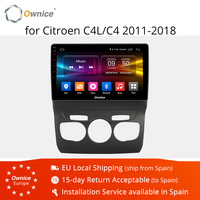 Ownice 4G LTE K1 K2 Android 8.1 Navigation Player 2011 2018 For Citroen C4 C4L Octa core car DVD Radio Headunit Bluetooth