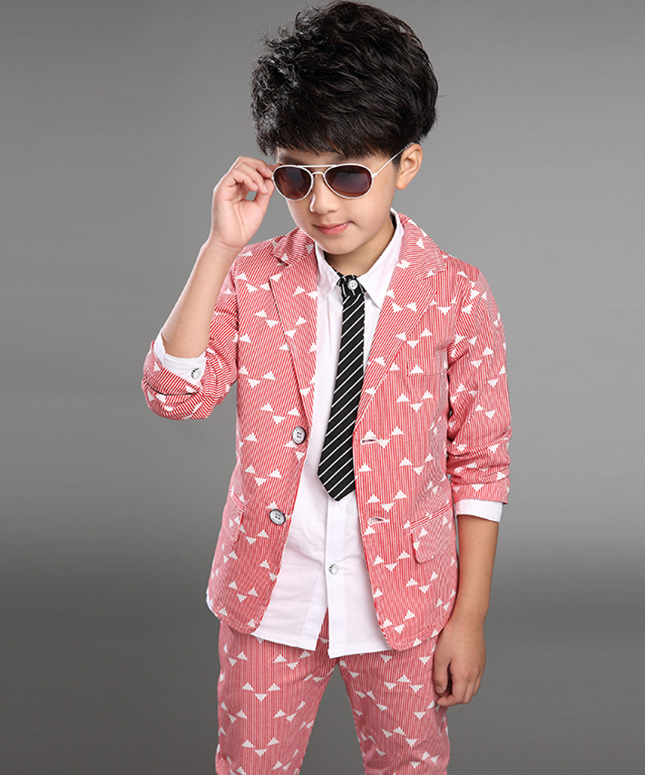 4a124473d25921 2018 Spring Autumn Gentleman Suit Jackets+Pants Baby Boys Clothes For Kids  Designer Childrens Clothing Set 2pcs set-in Clothing Sets from Mother   Kids  on ...
