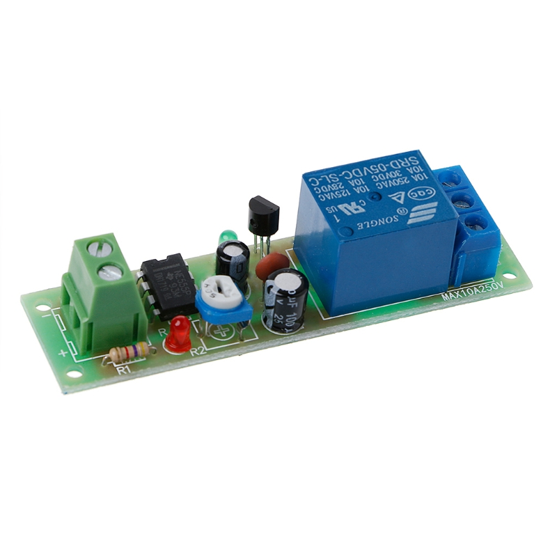 NE555 Relay DC 5V Timer Adjustable Delay Turn Off ON Switch Time Relay Module