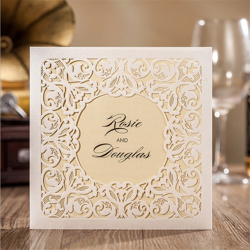 Free shipping 1pcs laser cut wedding invitations reply card china free shipping 1pcs laser cut wedding invitations reply card china made casamento wedding party decoration supplies in cards invitations from home garden stopboris Gallery