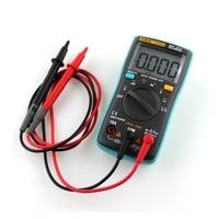 New 1 Pcs Angne AN8002 Handheld Digital Multimeter 6000 Counts Backlight AC DC Ammeter Voltmeter Meter