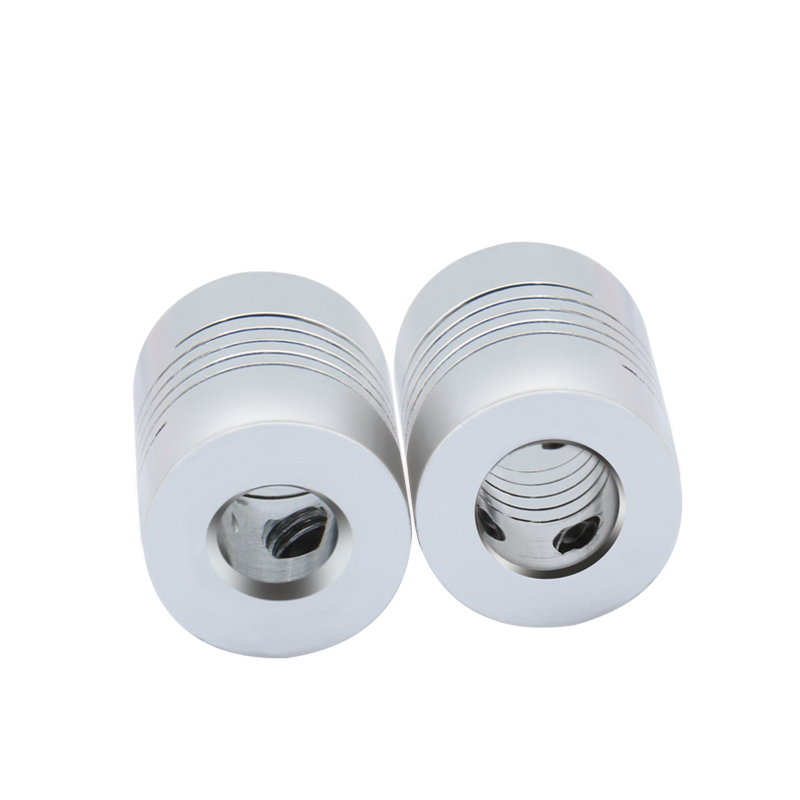 3D Printer Parts Accessory Stepper Motor Aluminum Alloy Z Axis Flexible Coupling Coupler Shaft Couplings 5mm 8mm 25mm 5x5x8 in 3D Printer Parts Accessories from Computer Office