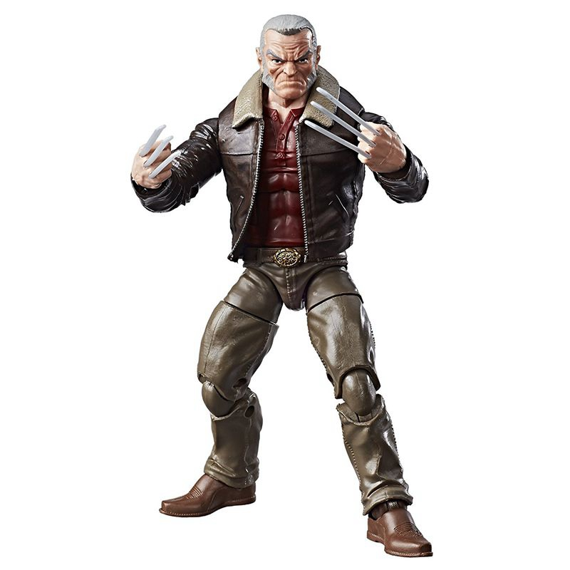 Original Garage Kit 6'' Figurine Marvel Wolverine Logan Toy PVC Collectible Action Figure Doll Model Toy Gifts In Box anime one piece dracula mihawk model garage kit pvc action figure classic collection toy doll