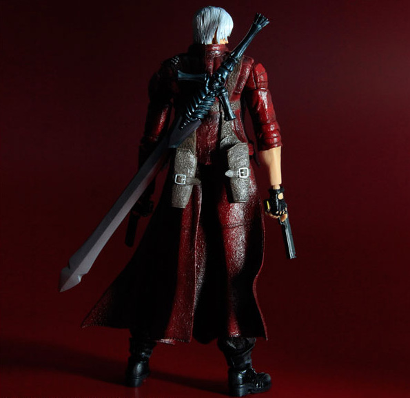 все цены на 28cm Devil May Cry 3 play action figure PVC toys collection anime cartoon model toys collectible