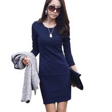 Fashion Women Bandage Dresses Bodycon Long Sleeve Evening Sexy Mini Dress With High Quality(China)