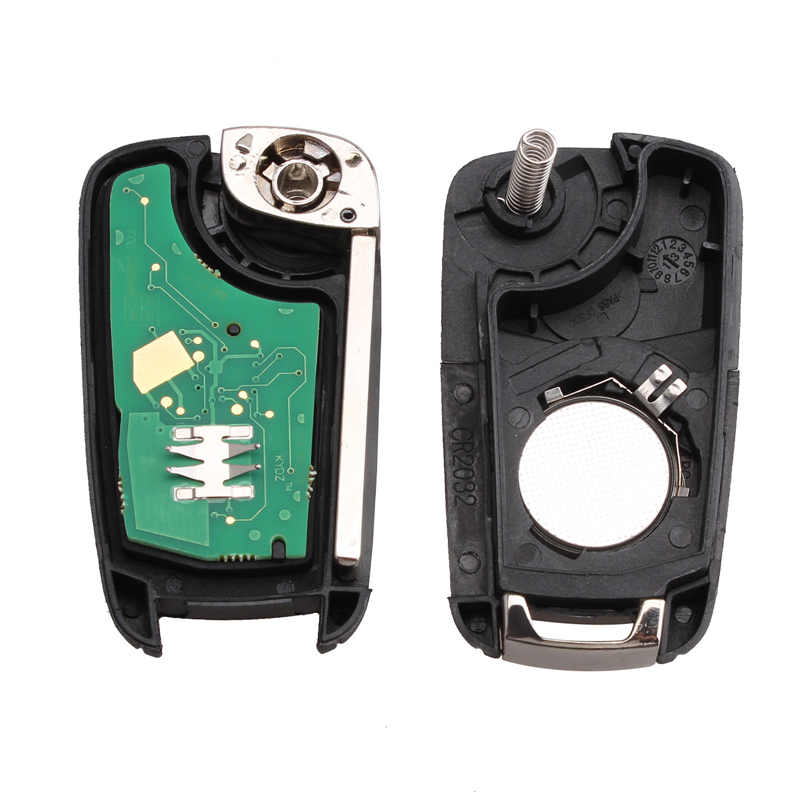 Stenzhorn Flip Fold Car Remote Key Fob 2Button 433Mhz For Opel Vauxhall Astra J Corsa E Insignia Zafira C 2009-2015 +HU100 Blade