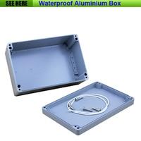 Free Shipping Small SIze Waterproof Box IP67 Aluminium Waterproof Die Cast Aluminium Box 240 160 100mm