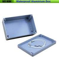 送料無料小型防水ボックス IP66 アルミ防水ダイカストアルミボックス 240*160*100 ミリメートル