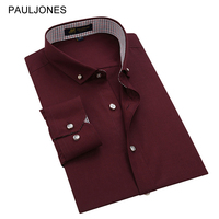 2015 New Men S Clothing Long Sleeve Brand Dress Shirts For Men Spring Fashion Casual Shirts