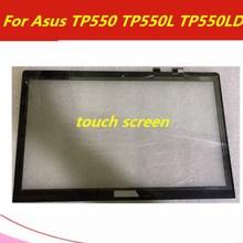 Для Asus Transformer book TP500 TP500L сенсорный экран 15,6 дюймов дигитайзер панель Стекло сенсор Замена