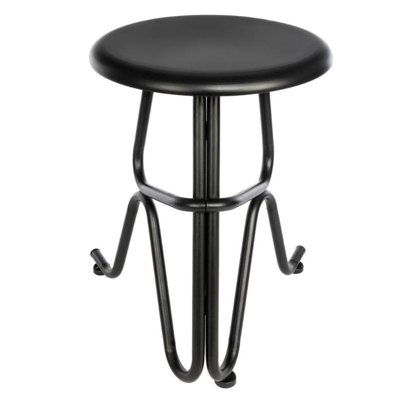 Bar Chairs Creative Human Shaped Wrought Iron Round Stool Fashion Bar Dining Chair Kitchen Dining Breakfast Chair Dropshipping