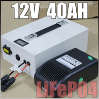 12 v Güneş Enerjisi depolama Uzun Ömürlü pil 12 V 40Ah LiFePO4 Protable pil