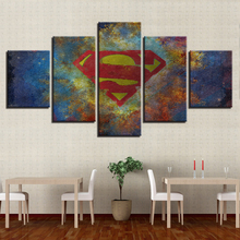 Superman Movie HD Print Painting Wall Art Canvas Painting Modern Home Decor Picture Canvas Printed Movie Poster Artwork Decor цена в Москве и Питере