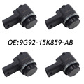 4PCS 9G92-15K859-AB Front PDC Parking Sensor For Ford Jaguar Land Range Rover Valeo 8A6T-15K859-AA