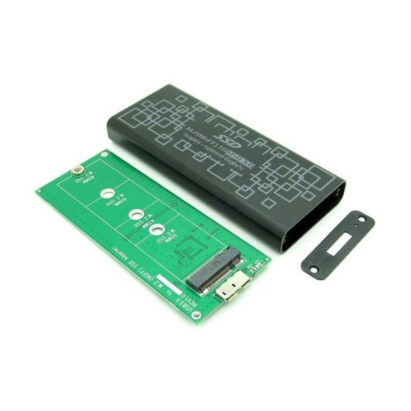 2015-Hot-USB3-0-to-M-2-NGFF-PCI-E-Converter-Adapter-Enclosure-Case-B-M(4)