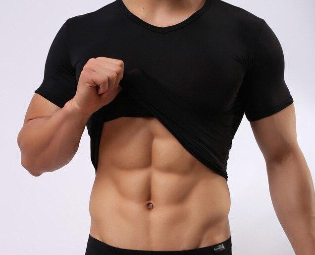 Mens black silk short sleeve shirt photo album best for Best white shirt mens