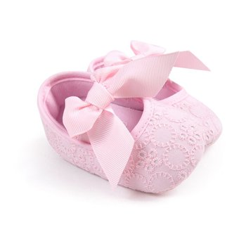 Girl Baby Shoes Cotton First Walkers Fashion Baby Girl Shoes Butterfly-knot First Sole Kids Shoes conjuntos casuales para niñas