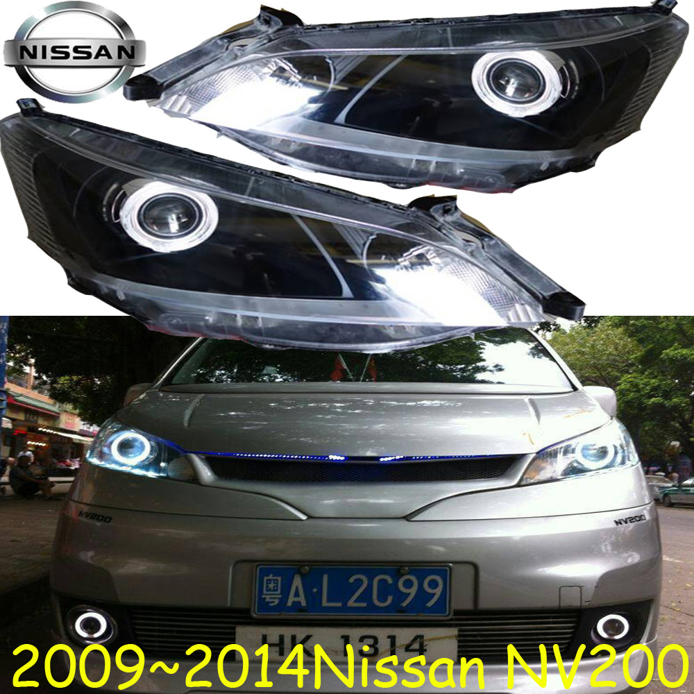 NV200 headlight,2009~2015,(LHD/RHD),Free ship! NV200 fog light,2ps/set+2pcs Aozoom Ballast, sylphy,NV200 nv200 fog light 2009 2015 2pcs nv200 halogen light free ship nv200 headlight nv 200