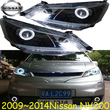 NV200 headlight,2009~2015,(LHD/RHD),Free ship! NV200 fog light,2ps/set+2pcs Aozoom Ballast, sylphy,NV200