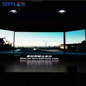 Image 3 - جديد 500*500 مللي متر خزانة p3.91 داخلي led تأجير شاشة عرض led شاشة ألومنيوم السبك بالقوالب خزانة فيديو إعلانات جدار