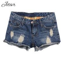 2017 D été Femmes Motif Short En Jean Femme Trou Court Jeans Femmes de Jeans  Plus La Taille Dames Denim Shorts Zipper Shorts 01ed3739bf4
