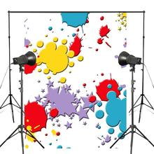 150x220cm Lovely Colorful Clipart Pattern Photography Backdrop Abstract Art Background Kids Photo Studio Wall