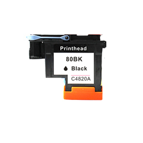 Einkshop 1Pcs compatible CA4820A Black Printhead replacement For HP 80 Designjet 1000 1050c 1055cm Printer parts 1pcs ca4820a black printhead for hp 80 for hp designjet 1000 1050c 1055cm printer