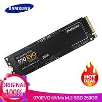 SAMSUNG 250 ГБ 970 EVO NVMe M.2 SSD твердотельный жесткий диск HDD Дискотека Дуро disque мажор MLC 2280 PCIe 3,0x4 1,2 M2 250 ГБ
