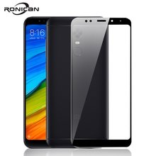 RONICAN Glass For Xiaomi Redmi 5 Plus Screen Protector Ultra Thin For Xiaomi Redmi Note 5 Pro Protective Glass For Redmi 5 Plus
