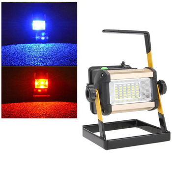 50W 36LED LED Work Light Rechargeable Portable Spotlight Outdoor Emergency Hand Work Lamp IP65 Waterproof Light