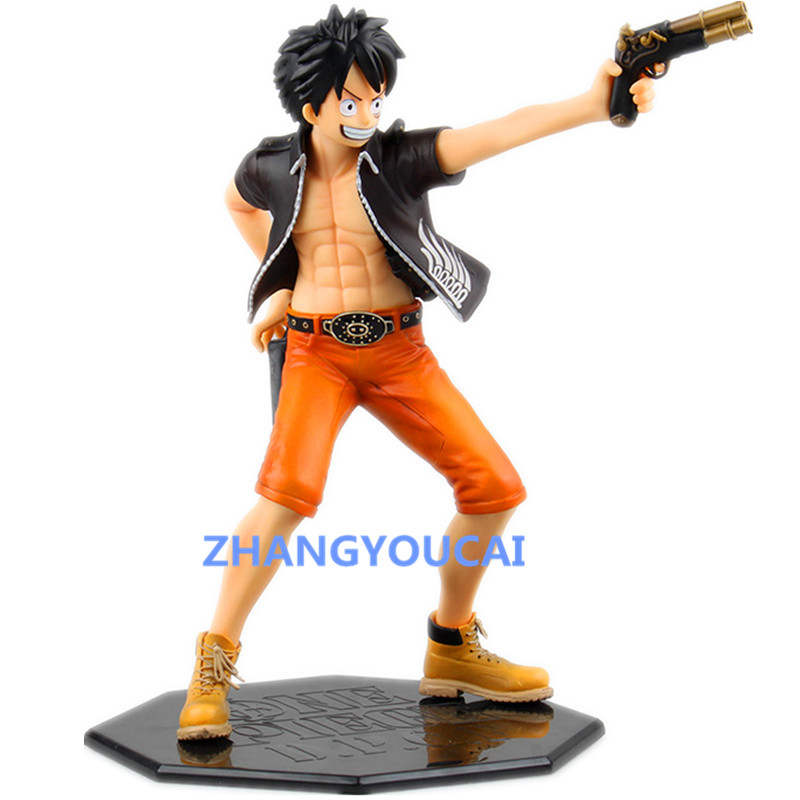 Anime One Piece D.P.C.F Monkey D Luffy 1/7 Scale Door Painting Collection Figure 22.5cm RETAIL BOX zy017