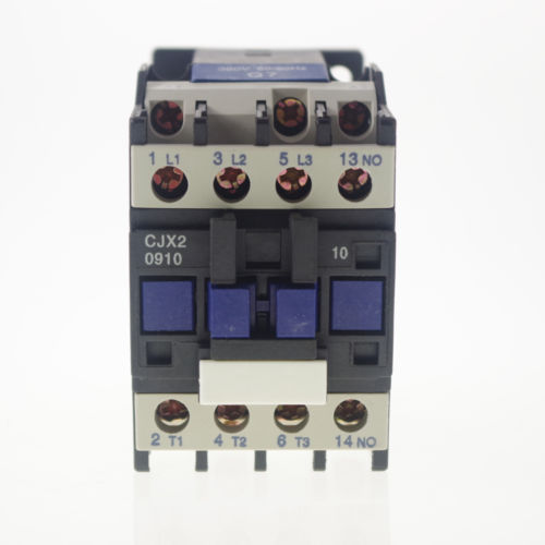 AC Contactor Motor Starter Relay (LC1) CJX2-0910 3P+NO 380/400V Coil 9A 4KW best quality ac contactor cjx2 150 150a 3p used for ac motor