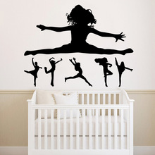 Hot Sale dancing Vinyl Decals Wall Stickers Waterproof Home Decoration Wallpaper