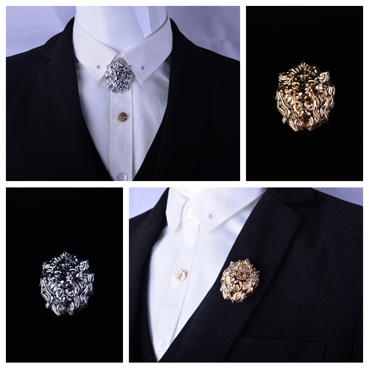 2017 Brooches Broche Pin Domineering For Head Brooch Men \'s ...